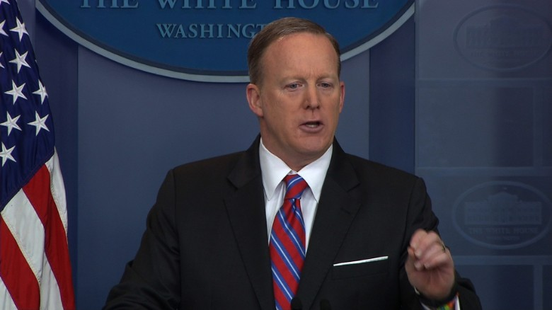 Spicer invokes salad dressing to blast media