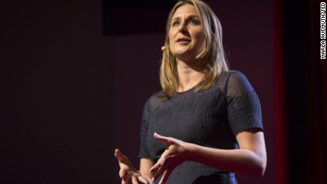 Aspen Baker, executive director of Exhale, speaks at TEDWomen 2015 about her mission and her abortion.