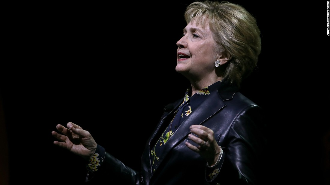 Hillary Clinton calls Trump's budget a 'grave mistake'