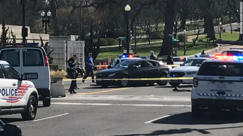Police: No injuries in Capitol incident