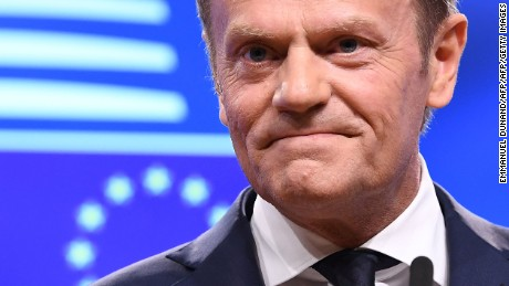 Donald Tusk to UK: 'We already miss you'