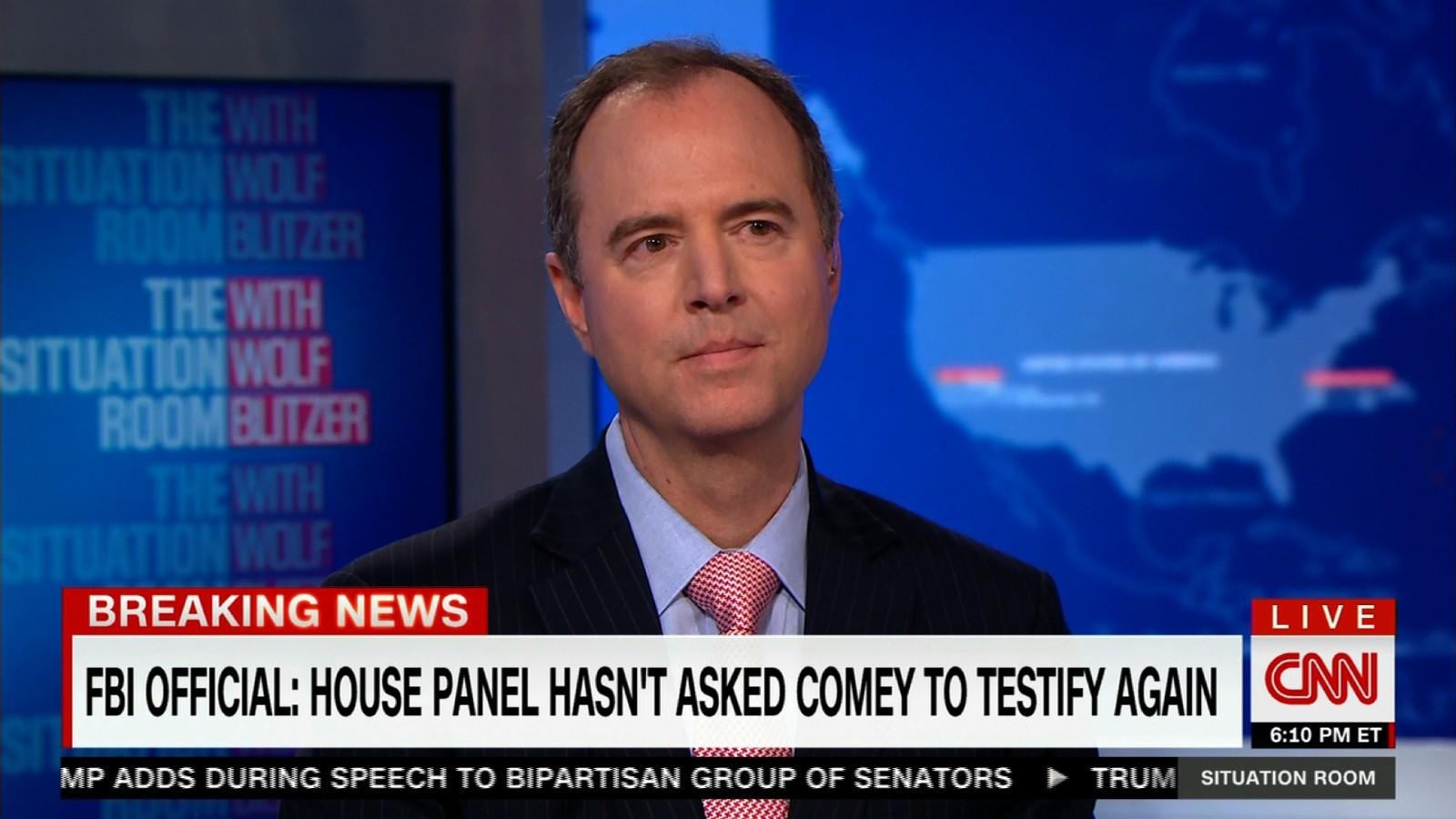 Schiff Says He Will Meet With Nunes On Thursday   CNNPolitics
