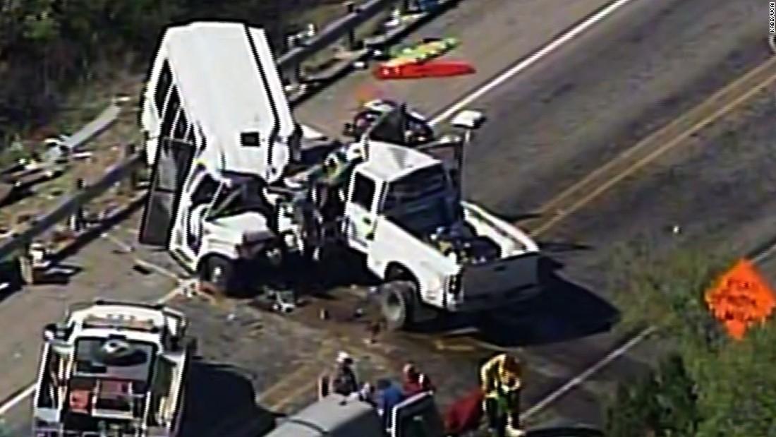 NTSB investigates Texas church bus accident that left 13 dead
