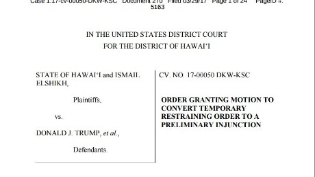 Trump travel ban: Read federal judge's latest ruling