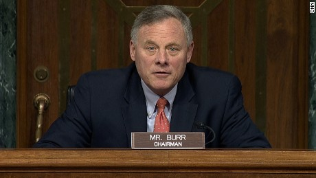 Senator Ricahrd Burr, Chairman of the Senate Intelligence Committee opens hearings on Trump Russia ties.