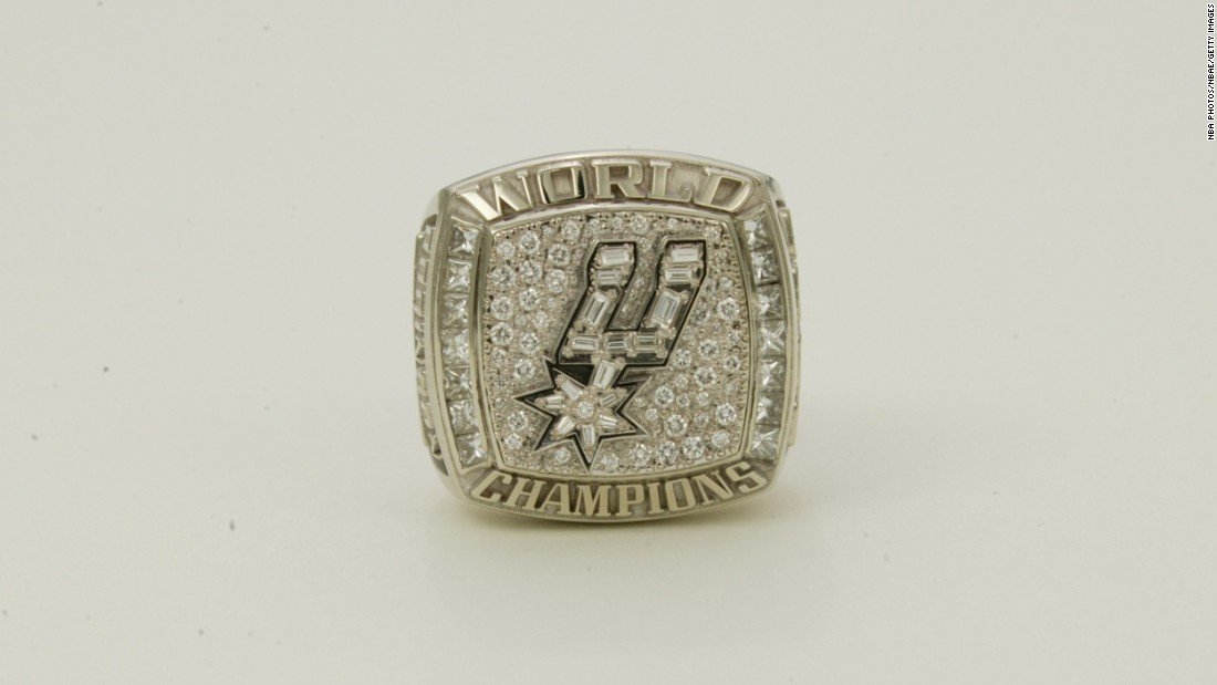 In 2003, the San Antonio Spurs won their second league title.