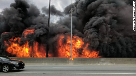 Atlanta interstate collapse and fire: Why there were no fatalities