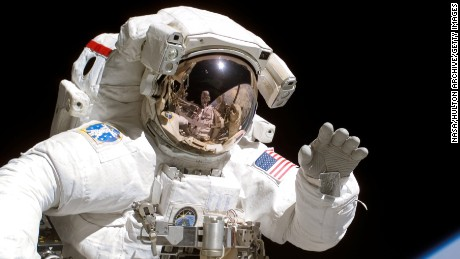 What happens if an astronaut falls sick in space?
