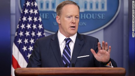 Spicer apologizes for Hitler comparison: 'It was a mistake to do that'