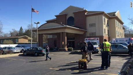A carbon monoxide leak at a Quality Inn and Suites in Niles, Michigan reportedly sent seven kids to the hospital Saturday, April 1.