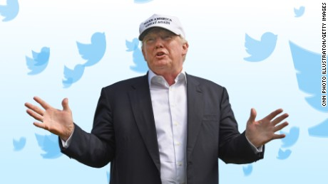 Trump's terror tweets make a statement