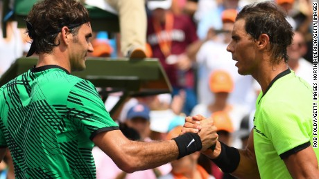Nadal has beaten Federer in 23 of their 37 matches.
