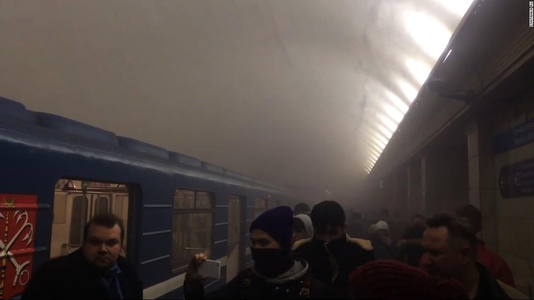 St. Petersburg metro explosion: At least 11 dead in Russia blast