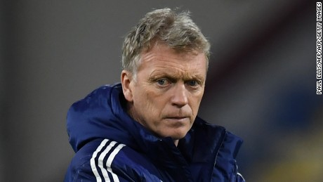 West Ham manager David Moyes' team will play three games in six days.