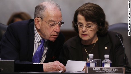 Feinstein: Judiciary committee must 'step up and carry its weight'