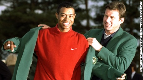 Tiger Woods: 20 years of iconic images