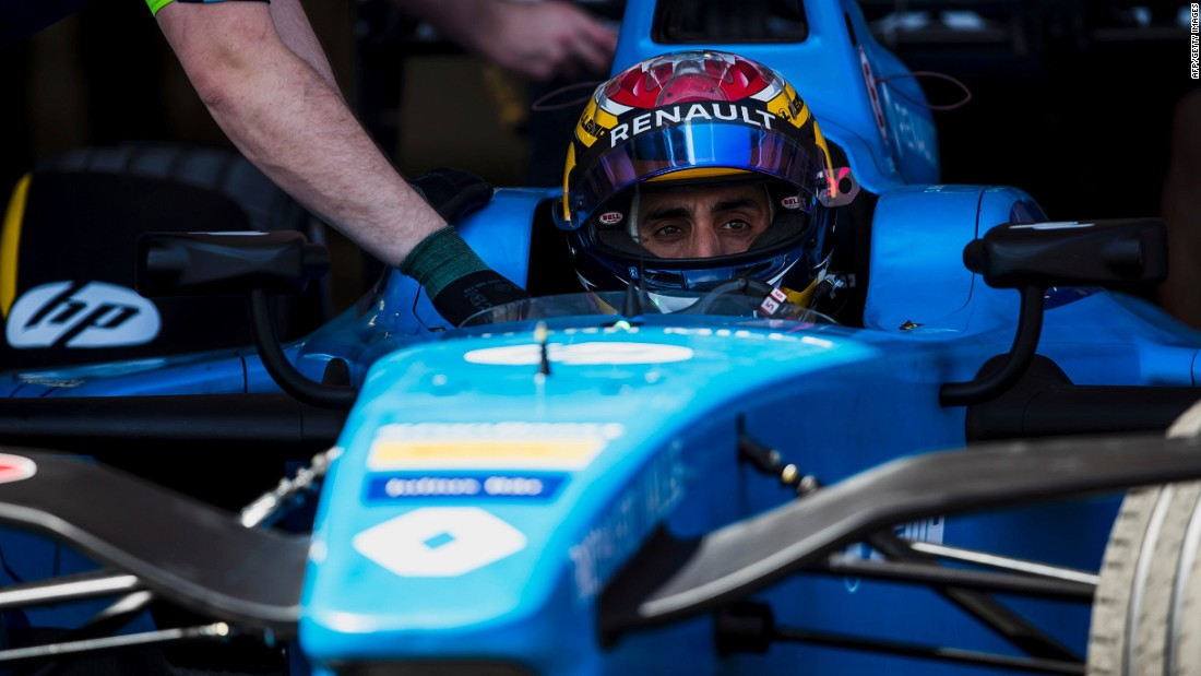 Sebastien Buemi won the opening three races of the season but finished outside the points in Mexico.