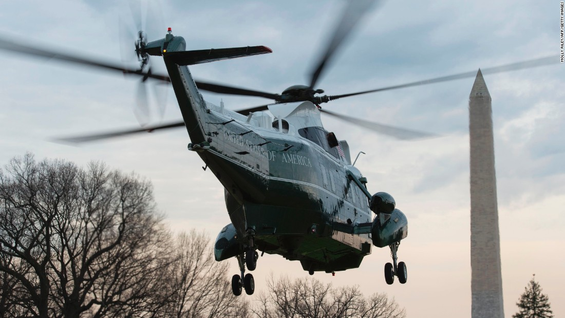 "Marine One carries President Donald Trump away from the White House on Monday, March 20. <a href=""http://www.cnn.com/2017/03/01/politics/gallery/us-military-february-photos/index.html"" target=""_blank"">See military photos from February</a>"