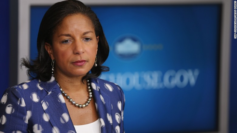 Susan Rice: Trump claims 'absolutely false'