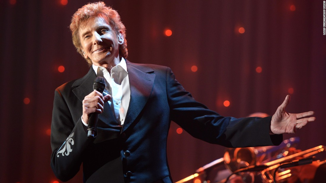 Singer Barry Manilow married longtime partner and manager Garry Kief in a secret ceremony in 2014. Manilow came out after news of the marriage was made public in 2015.