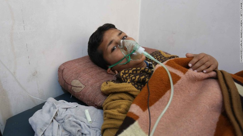 idlib chemical attack syria