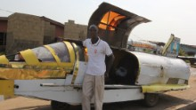 It's been the dream of sci-fi enthusiasts and inventors for decades, but has this Nigerian man created a flying jet car that can dodge traffic? Kehinde Durojaiye, or