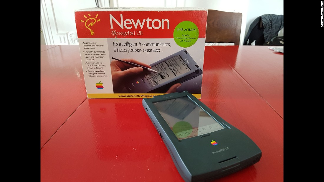 "The Apple Newton was an early tablet that, according to West, simply ""didn't work."""