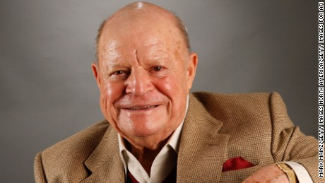 "HOLLYWOOD - NOVEMBER 09:  Actor Don Rickles of the film ""Mr. Warmth, The Don Rickles Project"" poses in the portrait studio during AFI FEST 2007 presented by Audi held at ArcLight Cinemas on November 9, 2007 in Hollywood, California.  (Photo by Mark Mainz/Getty Images for AFI)"