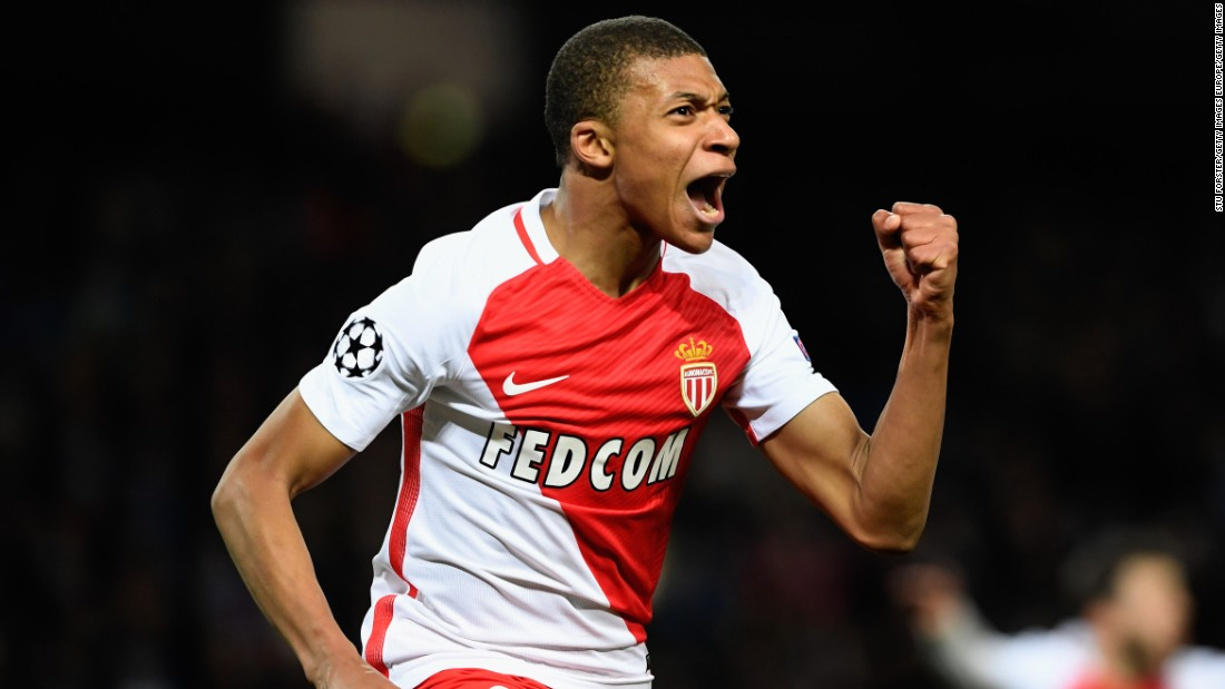 Falcao, who previously played for European clubs Manchester United, Chelsea, Porto and Atletico Madrid, has been supported up front by teenager Kylian Mbappe. The 18-year-old Mbappe, who has scored 14 goals in Ligue 1 this season, recently became the second-youngest player to play for France when he made his debut against Luxembourg in March.