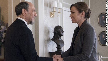 F. Murray Abraham, Elizabeth Marvel in 'Homeland'