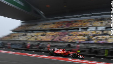 Ferrari's Sebastian Vettel is looking to back up his victory at the Australian GP.