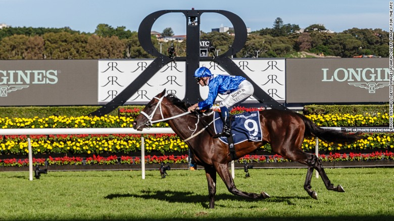 Winx extends record in the George Ryder