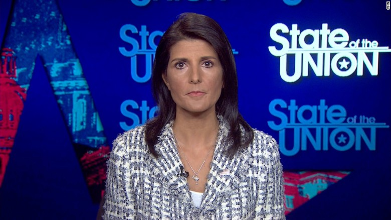 Haley on sanctions: Nothing is off the table