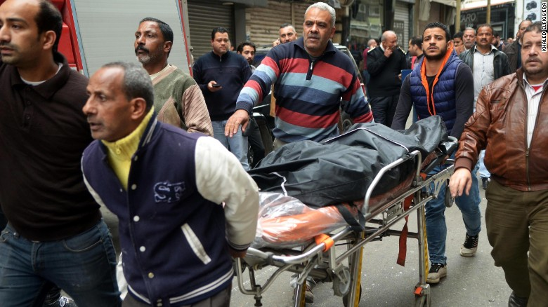 Egyptian President declares state of emergency