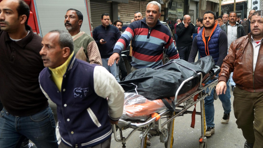 ISIS claims responsibility for Palm Sunday church bombings in Egypt