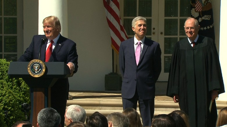 Entire Neil Gorsuch swearing-in ceremony