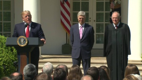 Trump: Gorsuch appointment is a great honor