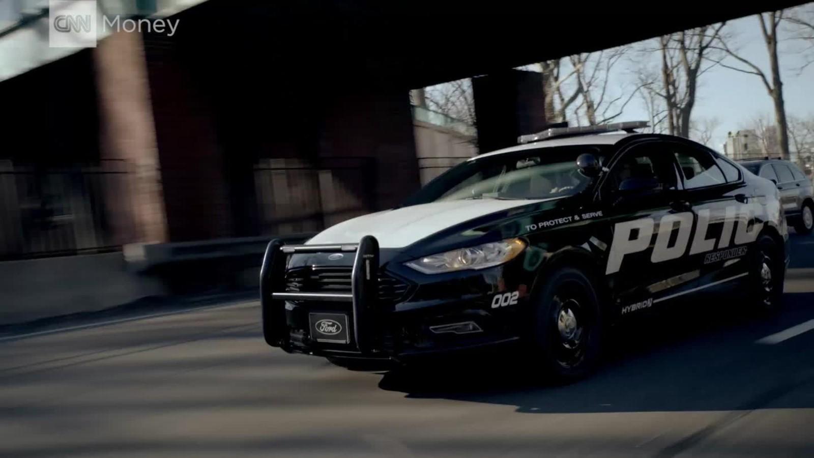 & Ford unveils hybrid police car - CNN Video markmcfarlin.com