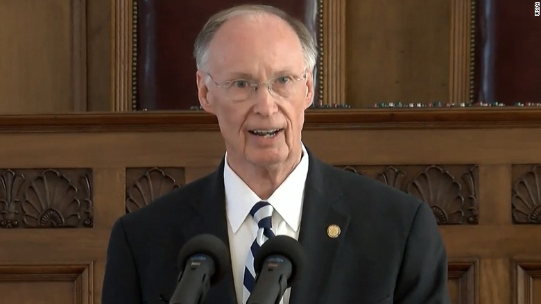 Alabama governor resigns amidst scandal
