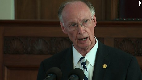 Alabama governor's  resignation speech