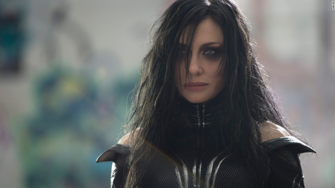 "Cate Blanchett plays Hela in ""Thor: Ragnarok."""