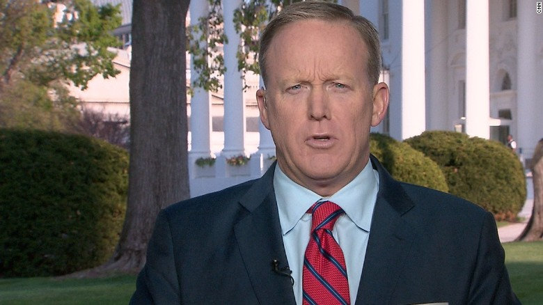Sean Spicer apologizes for Hitler reference