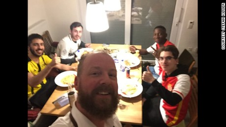 Germans open their homes to Monaco fans after Dortmund attack