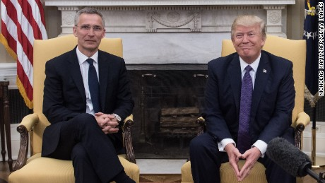 Trump says NATO no longer 'obsolete'