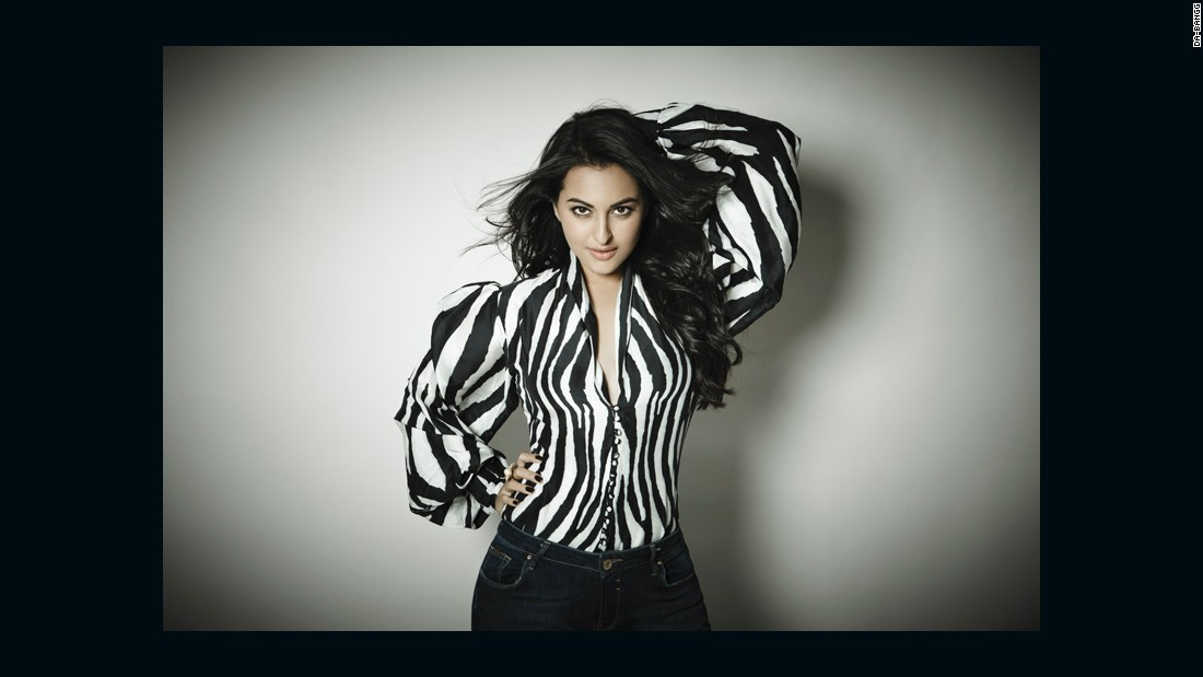 "Sonakshi Sinha starred in the popular 2010 movie ""Dabangg"" with Salman Khan."
