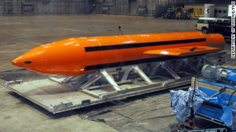 US military defends dropping 'mother of all bombs' on ISIS in Afghanistan
