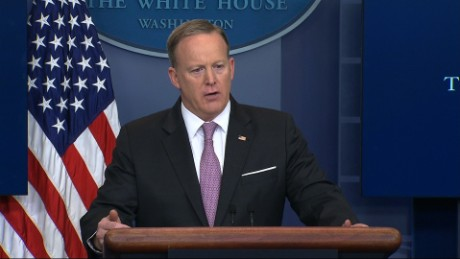 spicer white house briefing afghanistan bomb sot_00000000