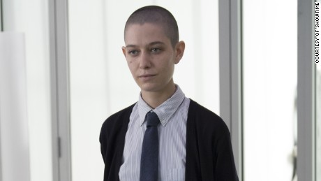 "Asia Kate Dillon plays financial genius Taylor Mason on Showtime's ""Billions"""