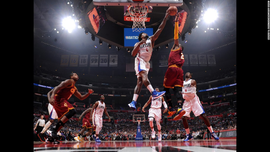 Speaking of defense, there aren't many better at it than the Clippers' DeAndre Jordan. Jordan, like Green, was chosen No. 35 in the draft. And like Green, he made the league's All-Defensive Team in 2015 and 2016. Jordan also led the league in rebounding in 2014 and 2015.