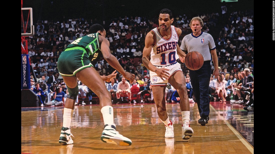 Philadelphia took Maurice Cheeks with the 36th pick in 1978. The point guard won a title with the Sixers in 1983 and finished his career as the league's all-time leader in steals. He also averaged nearly seven assists a game, and Philadelphia retired his number.